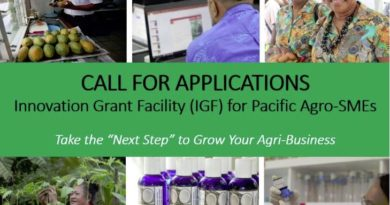 Opportunity for Pacific Agro-SMEs to Grow their Business