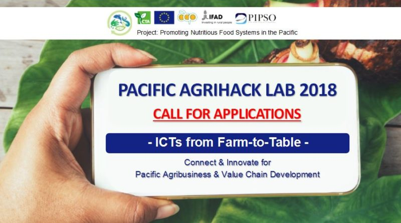 Pacific Agrihack Lab