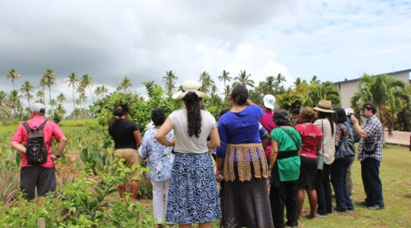 A tour of Tonga's horticulture industry to transform Pacific agri-food value chains