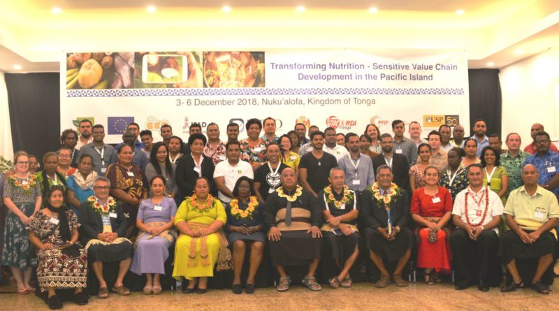 Sustainable Nutritious Food Systems important for Tonga and all the Pacific Islands