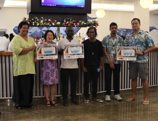 Pacific innovators win awards to scale-up their ICT tools for improving nutrition and value chain development