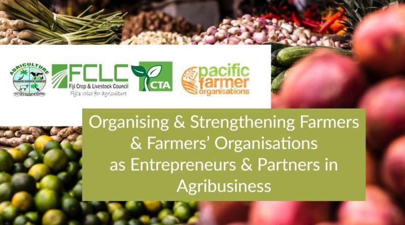 Fiji Crop and Livestock Council organizes Farmer Professionalisation & Empowerment Workshop