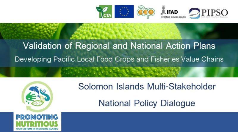 Solomon Islands National Validation Workshop