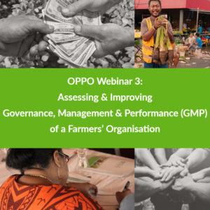 OPPO Webinar 3: GMP tool