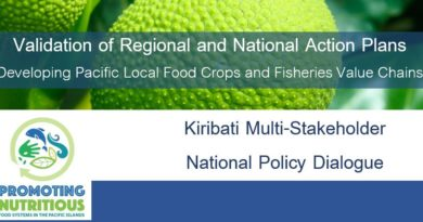 2nd Kiribati National Action Plan Validation Workshop