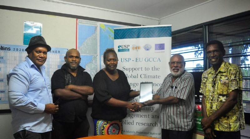 USP donates research equipment to Kastom Garden Association
